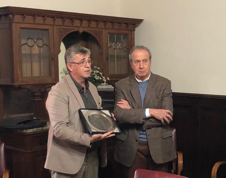 Se reconoció al doctor Edelmiro Pauletti tras su paso por el Consejo de la Magistratura