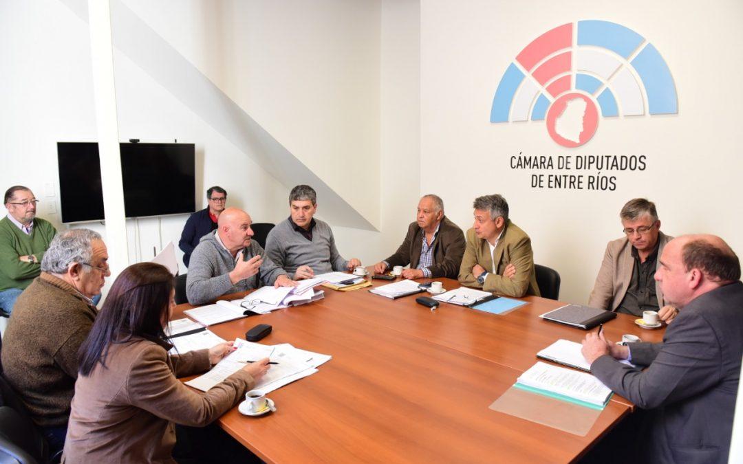 Dictamen favorable de Comisión de Diputados sobre licencia de Abogados y Procuradores