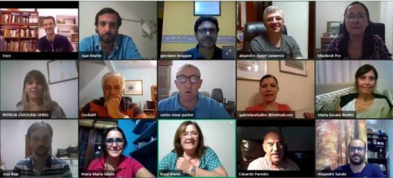 Reunión – Consejo Directivo vía Streaming