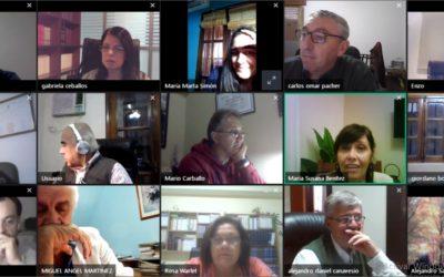 El Consejo Directivo se reunió por videoconferencia