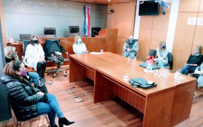 Reunión con Juezas de Familia de Paraná