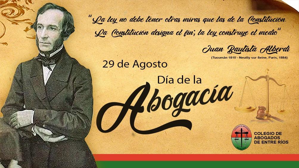 29 de Agosto – Día de la Abogacía
