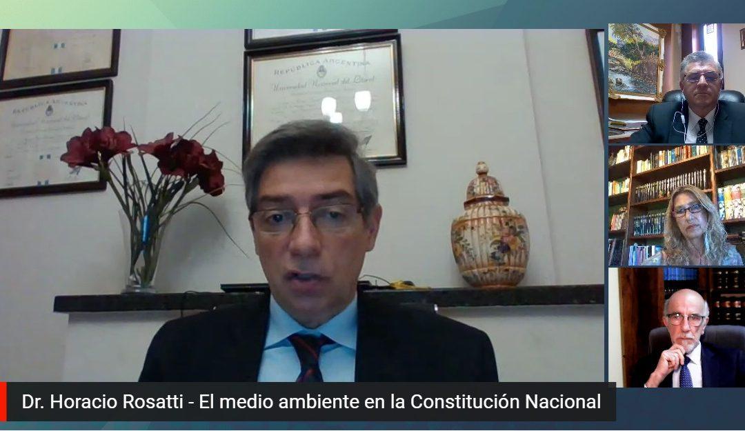 Conferencia: El Medio Ambiente en la Constitución Nacional