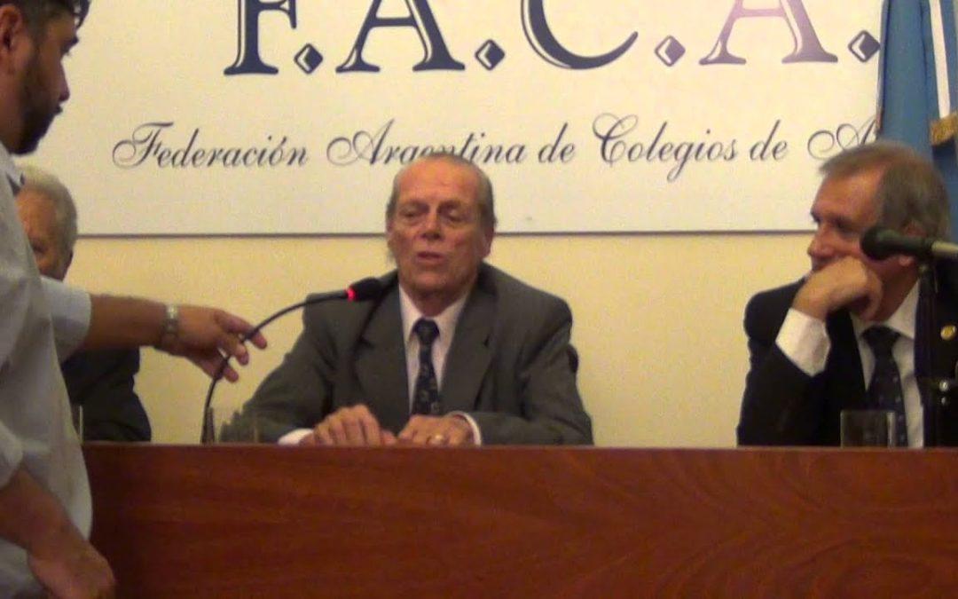 Falleció Jorge Mosset Iturraspe