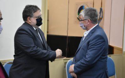 Canavesio se reunió con el intendente de Concordia