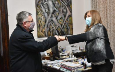 Canavesio se reunió con la ministra Romero en defensa del ejercicio profesional y honorarios