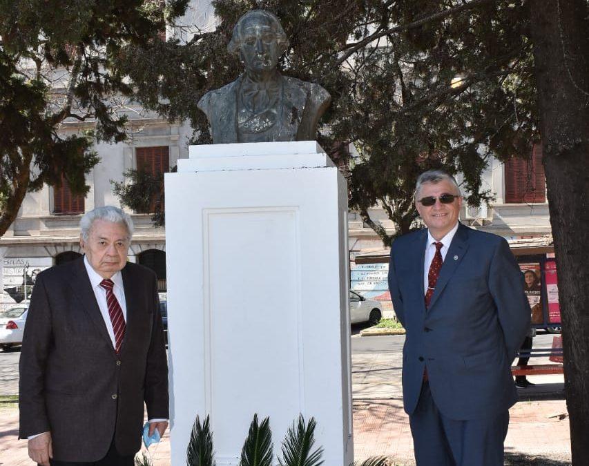 El CAER realizó un tributo a Alberdi por el Día de la Abogacía