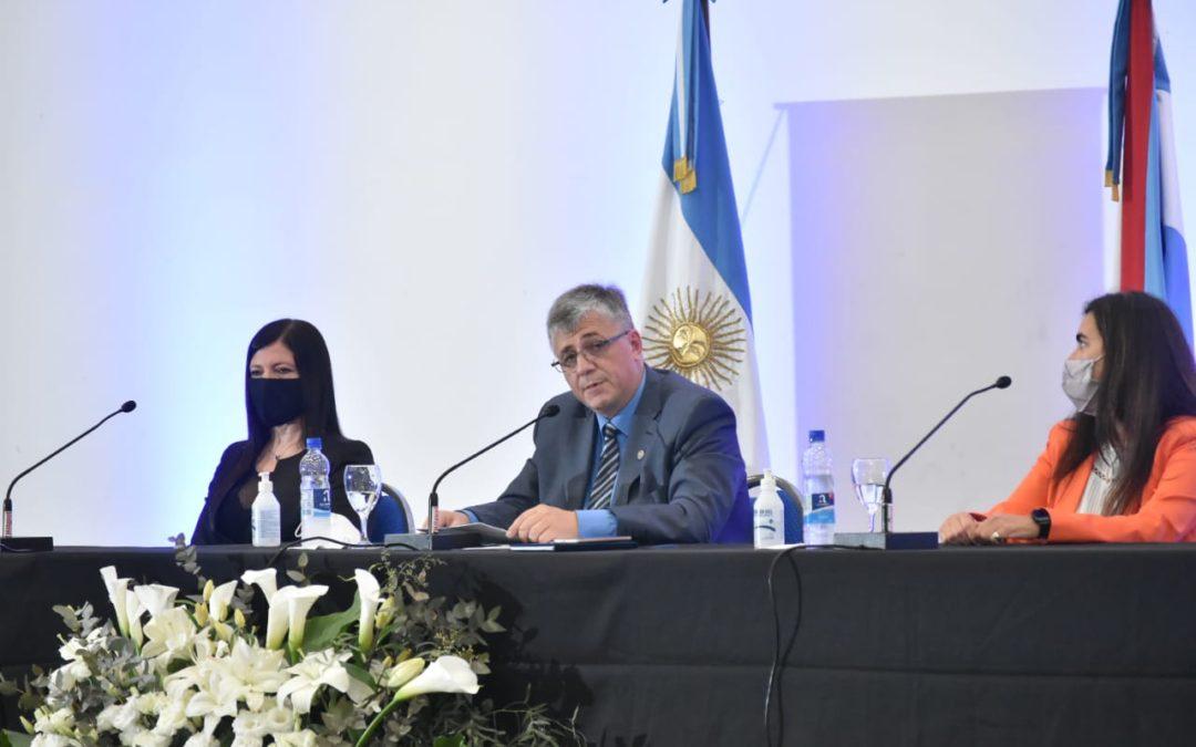 Canavesio asumió nuevo mandato y llamó a la unidad